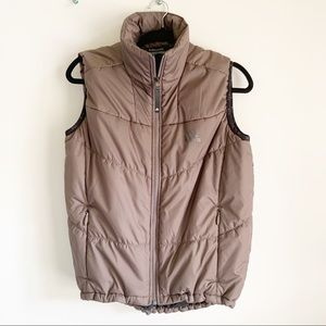 Adidas Outdoor Climawarm Brown Puffer Vest M